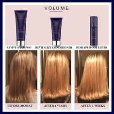 I love MONAT!! Improving hair with every wash...increased hair density and growth...#fastgrowinghair #volume #botanicalhaircare  rhoward.mymonat.com