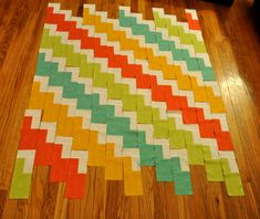 Risultati immagini per zig zag quilt Quilting For Beginners, Quilting Tips, Quilting Tutorials, Quilting Designs, Modern Quilting, Cute Quilts, Scrappy Quilts, Baby Quilts, Kid Quilts