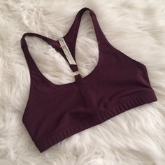 Free People Bralette Free People movement bralette/sports bra. Stretchy material and super cute.   » Offers through the offer button  » Bundling discounts available  » No trades » NWOT Free People Intimates & Sleepwear Bras