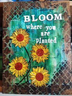 Looking for paper crafts project inspiration? Check out Bloom where you are planted by member Craft Walli.