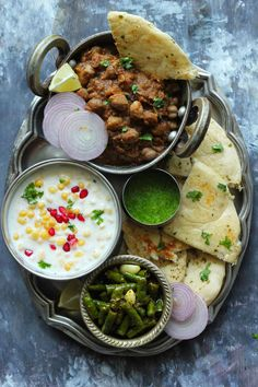 These 30 Everyday Indian Meals are packed with nutrient-rich foods and plenty of fresh fruits and vegetables. Our 30 everyday meals are worth bookmarking. Veg Recipes, Curry Recipes, Indian Food Recipes, Vegetarian Recipes, Cooking Recipes, Recipies, Ethnic Recipes, Veg Thali, Masterchef