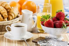 We've all fallen victim to the prospect of a free hotel breakfast, only to be disappointed with a continental-style offering of boxed orange juice, packaged. Hotel Breakfast, Free Hotel, Continental Breakfast, New Recipes, Kiwi, Lose Weight, Make It Yourself, Traditional, Tableware