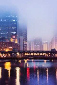 Misty Chicago, by Joe Prince (Chicago Pin of the Day, 11/4/2015).