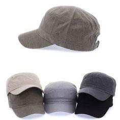 Unisex Mens Womens Classic Plain Vintage Army Military Cadet Patrol Castro Hats #hellobincom #CadetPatrolCastroCapHats