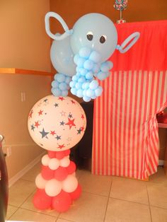 Carnival/Circus / Birthday Baby Os First Birthday Circus Extravaganza | Catch My Party