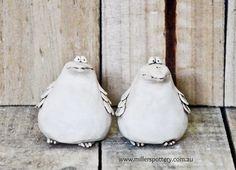 Australian handmade ceramic ducks by www.millerspottery.com