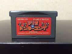 Mario vs Donkey Kong Game Boy Advance Japan Nintendo