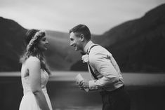 Lakeside elopement in the Irish Wicklow Mountains and Glendalough Outdoor Ceremony, Wedding Ceremony, Got Married, Getting Married, United States Navy, Couple Photography, Vows, Ireland, Anna