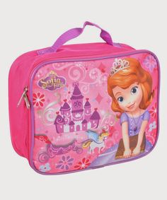 cfbfda1450 Back to School with Sofia the First Insulated Lunch Box
