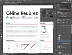 5e étape, le travail sur logiciel pour la rédaction, la mise en page, l'aspect graphique et le peaufinage.