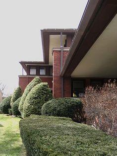 Heath House, Buffalo - Frank Lloyd Wright
