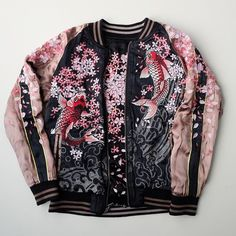 Pinky koi track jacket. I would love to own this.