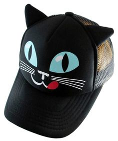 Black Cat Hat. http://bumpandbunny.com/collections/hollywood-mirror