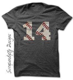 Baseball Dad Shirt - Kids Baseball Tee / Toddler Baseball Shirts / Baseball Gift / Teeball Mom Shirt / Baseball Birthday Shirt / Mens Tshirt