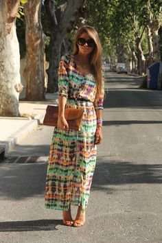 fresh boho dress
