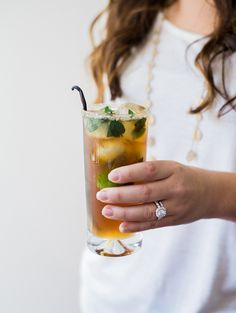 delicious Whiskey Bean Cocktail recipe! http://ruffledblog.com/whiskey-bean-cocktail-recipe