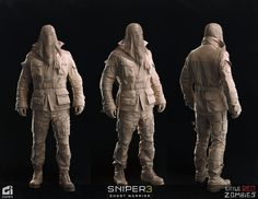 ArtStation - John North (Seperatist Outfit), LITTLE RED ZOMBIES