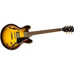 Gibson ES-339 Semi-Hollow Electric Guitar with 30/60 Neck Antique Red Antique Vintage Sunburst.