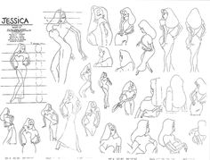 Jessica Rabbit ★ || *Please support the Artists and Studios featured here by buying this and other artworks in their official online stores • Find us on www.facebook.com/CharacterDesignReferences | www.pinterest.com/characterdesigh | www.characterdesignreferences.tumblr.com |  www.youtube.com/user/CharacterDesignTV and learn more about #concept #art || ★