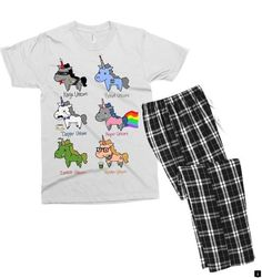 a38aa1a1837e Looking for unicorn funny men s t-shirt pajama set by meza design on an  awesome