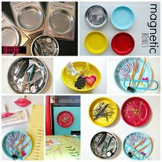 Magnet Bowls | 50 Clever DIY Ways To Organize Your Entire Life