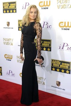 Margot Robbie, Critic's Choice Awards 2014 [Photo credit: Amy Graves]