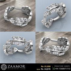 Leafy Creepers Band Ring #zaamordiamonds #zaamor #diamondring #diamondrings #ring #rings #leafyring #bandring #jewelleryrings #jewelleryring #giftjewelry #jewellerydesign #jewelry #jewellery #anniversarygift #birthdaygift #specialgift #specialgifts #dailywearrings #dailywearjewellery #officewearjewelry