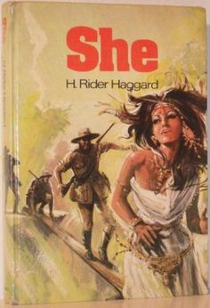 She by H Rider Haggard; Purnell 1976