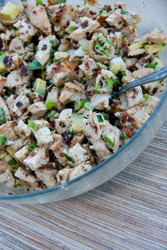 Grilled Chicken, Bacon & Avocado Salad