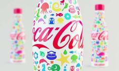 Cartoon Bottle Branding - The Shamil Ramazanov Coca-Cola Bottle Makes You Feel Like a Child Again (GALLERY)