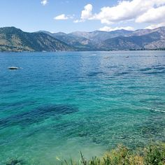 lake chelan, wa. The most beautiful lake I've ever seen