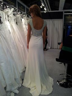 Gino Cerruti back I Dress, Bridal Dresses, Our Wedding, Pastel, Formal Dresses, Fashion, Bride Dresses, Dresses For Formal, Moda