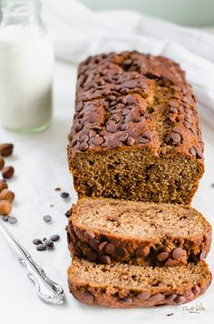 Healthy Desserts, Meatloaf, Banana Bread, Brunch, Food And Drink, Low Carb, Sweets, Vegan, Breakfast