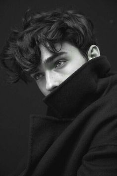 by Guillaume Malheiro - Writing Inspiration, Character Inspiration, Male Charact. - by Guillaume Malheiro – Writing Inspiration, Character Inspiration, Male Character Inspiration - Beautiful Boys, Pretty Boys, Beautiful People, Beautiful Pictures, Male Character, Poses For Men, Aesthetic Boy, Aesthetic Drawing, Black Hair Aesthetic