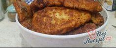 Recept Obrácené řízky s bramborovou kaší Thing 1, Pork, Turkey, Meat, Chicken, Kale Stir Fry, Peru, Beef, Pork Chops