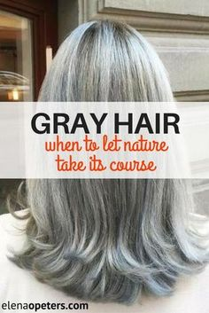 Here we go again. Off to the hair salon to color my roots which seem to be advancing doubly fast. Is it time to transition and embrace the grey?