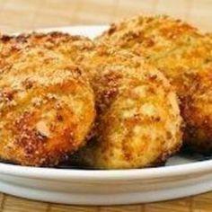 Crunchy garlic Parmesan chicken