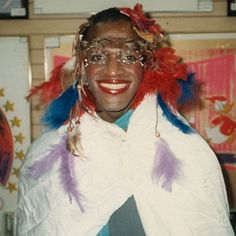 """Marsha """"Pay It No Mind"""" Johnson, Andy Warhol's Factory, New York City, c. Photo © Randy Wicker, inspired by History Icon, Lgbt History, Aesthetic Grunge, Aesthetic Vintage, Pretty People, Beautiful People, Black Lives Matter Quotes, Transgender Model, Riot Grrrl"""