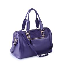 Runway #fashions have purples and berry colors trending for fall 2013. Why wait until fall when you can carry our lovely purple barrel #tote bag right now? www.icarryalls.com
