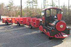 GEORGIA TRACKLESS TRAIN RENTALS FOR YOUR NEXT TRAIN PARTY