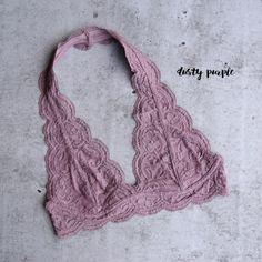 a004272a98 magic hour halter lace bralette (more colors)