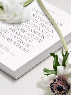 I really like the elegance and simplicity of this beautiful wedding invitation.