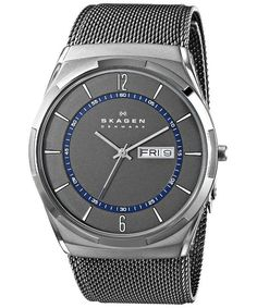 a1b1ea16394 #Skagen Melbye Grey #Titanium Mesh Strap SKW6078 Mens Watch Casual Watches,  Watches For