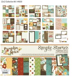 Lovvvvve the new #pumpkinspice line from #simplestories!! Will be the first item I purchase in August!