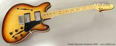 Fender Starcaster Sunburst 1976 full front view