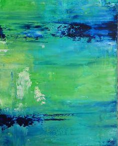 Acrylbild auf Leinwand – Rakelkunst – Rakel 43 – 100 x 80 cm -AbstrakteKunstDeppe.de