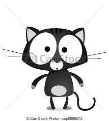 fekete cica rajz ile ilgili görsel sonucu