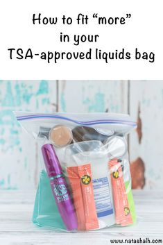 How to Pack More in your TSA Approved Liquid Carry On Bag - Discover expert tips for how to pack your carry on liquids bag! These packing tips will help you pack more in your TSA approved liquid carry on bag. Packing Tips For Vacation, Carry On Packing, Vacation Trips, Packing Hacks, Vacations, Travelling Tips, Luggage Packing, Cruise Tips, Cruise Packing