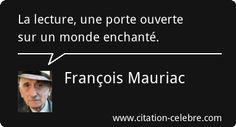 François Mauriac :