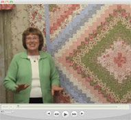 ELEANOR BURNS!!! Quilt in a Day - Quilting Videos